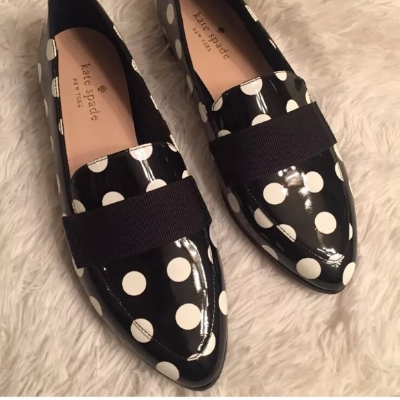 3f1656145d29 kate spade Shoes - KATE SPADE CORINA POLKA DOTS FLATS LOAFERS 6